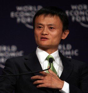 """Jack Ma 2008"" by World Economic Forum - Copyright World Economic Forum (www.weforum.org)/Photo by Natalie BehringUploaded to Wikipedia (cc-by-sa-3.0,2.5,2.0,1.0; GFDL)from Flickr Jack Ma (cc-by-sa-2.0). Licensed under Creative Commons Attribution-Share Alike 3.0-2.5-2.0-1.0 via Wikimedia Commons - http://commons.wikimedia.org/wiki/File:Jack_Ma_2008.jpg#mediaviewer/File:Jack_Ma_2008.jpg"